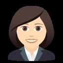 Download Woman Office Worker Emoji By Joypixels